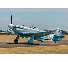 New-build Yakovlev Yak-3M G-CGXG taxying Photographic Print