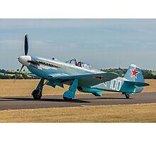 New-build Yakovlev Yak-3M G-CGXG taxying Photographic Print