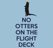 No otters on the flight deck by SallySparrowFTW