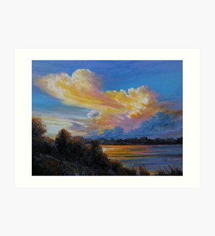 Irish sky III Art Print