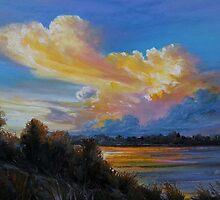 Irish sky III by Roman Burgan