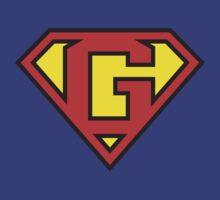 Super Initials Tee - G by NerdUniversitee