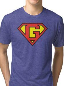 Super Initials Tee - G Tri-blend T-Shirt