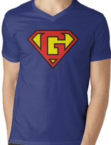 Super Initials Tee - G Mens V-Neck T-Shirt