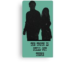 The Truth is Still Out There Canvas Print