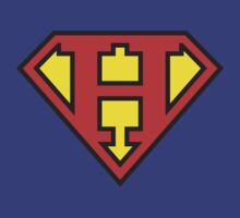 Super Initials Tee - H by NerdUniversitee