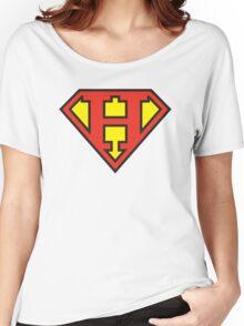 Super Initials Tee - H Women's Relaxed Fit T-Shirt