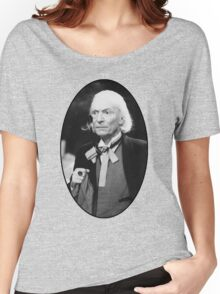 William Hartnell Shirt (1st Doctor) Women's Relaxed Fit T-Shirt