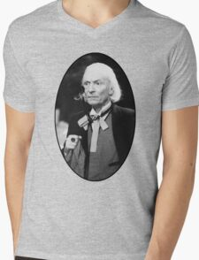 William Hartnell Shirt (1st Doctor) Mens V-Neck T-Shirt