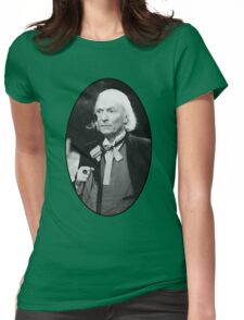 William Hartnell Shirt (1st Doctor) Womens Fitted T-Shirt