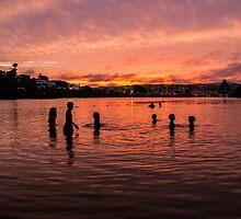 Sunset in Plett by djchapajt