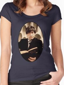 Patrick Troughton Shirt (2nd Doctor) Women's Fitted Scoop T-Shirt