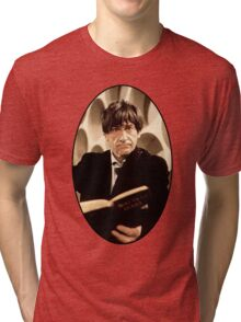 Patrick Troughton Shirt (2nd Doctor) Tri-blend T-Shirt