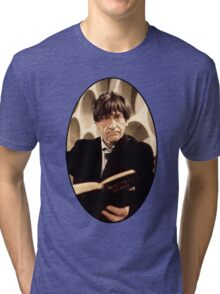 Patrick Troughton Shirt (2nd Doctor) Tri-blend T-Shirt