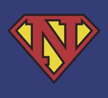 Super Initials Tee - N by NerdUniversitee
