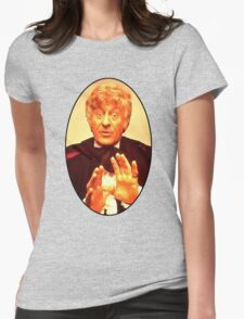 John Pertwee (3rd Doctor) Womens Fitted T-Shirt