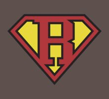 Super Initials Tee - R Kids Clothes