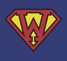 Super Initials Tee - W by NerdUniversitee