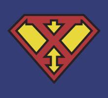 Super Initials Tee - X by NerdUniversitee