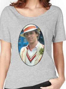Peter Davison (5th Doctor) Women's Relaxed Fit T-Shirt