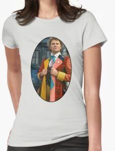Colin Baker (6th Doctor) Womens Fitted T-Shirt