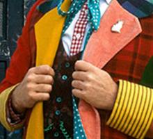 Colin Baker (6th Doctor) Sticker