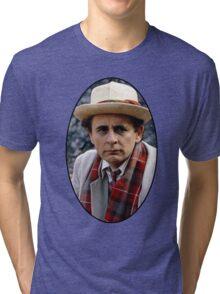 Sylvester McCoy (7th Doctor) Tri-blend T-Shirt