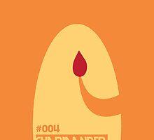 #004 - Charmander by trilac