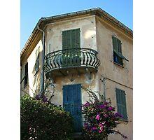 Ornate Balcony Photographic Print
