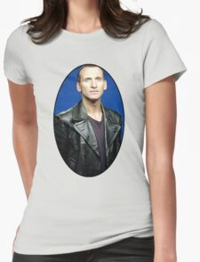 Christoper Eccleston Womens Fitted T-Shirt