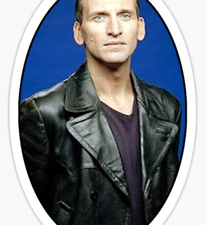 Christoper Eccleston Sticker