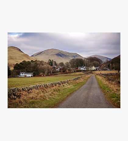 Durisdeer and the Lowther Hills Photographic Print