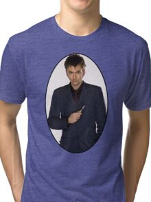David Tennant (10th Doctor) Tri-blend T-Shirt