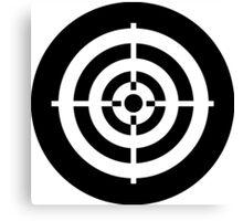 Bullseye Ideology Canvas Print
