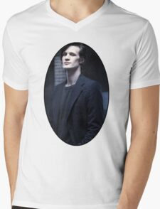 Matt Smith (11th Doctor) Mens V-Neck T-Shirt