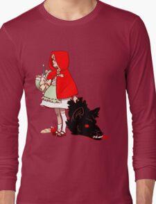 Little Red Hood Long Sleeve T-Shirt