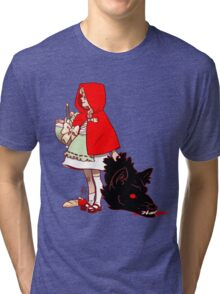 Little Red Hood Tri-blend T-Shirt