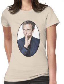 Peter Capaldi (12th Doctor) Womens Fitted T-Shirt