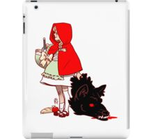 Little Red Hood iPad Case/Skin