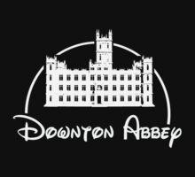 Downton Abbey / Disney //all white artwork// One Piece - Short Sleeve