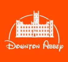 Downton Abbey / Disney //all white artwork// Kids Tee