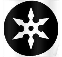 Ninja Shuriken Ideology Poster