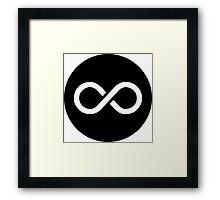 Infinity Ideology Framed Print