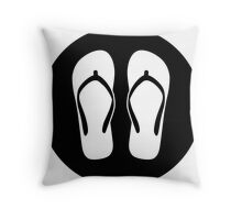 Chillax Ideology Throw Pillow
