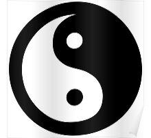 Yin Yang Ideology Poster