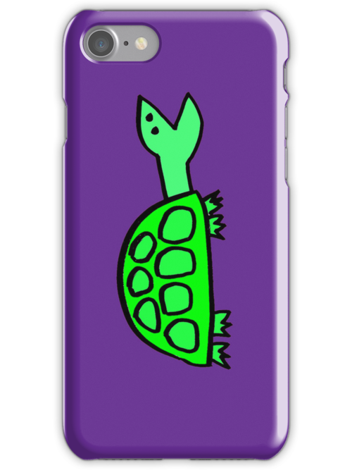 Stock Tip Tortoise iphone cover by Ollie Brock