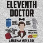 Eleventh Doctor (No Tallies) by BethTheKilljoy
