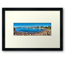 The Harbour - Shellharbour Framed Print