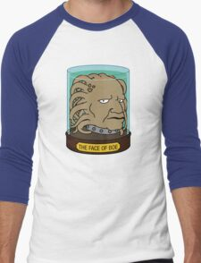 The Face of Boe Men's Baseball ¾ T-Shirt
