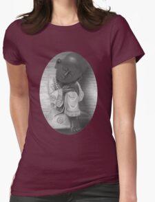 。◕‿◕。 LITTLE MONK TEE SHIRT 。◕‿◕。 Womens Fitted T-Shirt